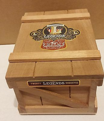 Cigar Box Sturdy Wooden From Drew Estate Exc Cond