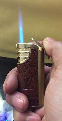 Chanel Gold Lighter Gold Colour  Green Jet Flame Brand New