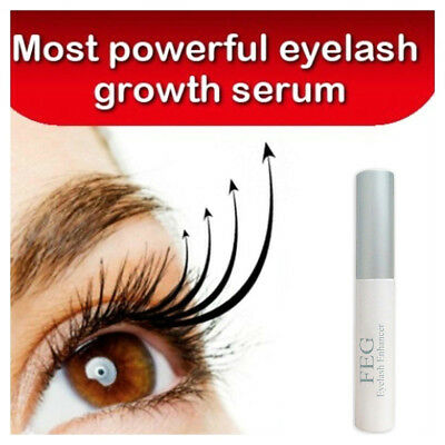 FEG Eyelash Eyebrow Enhancer Original Rapid Growth Serum Liquid 3ml