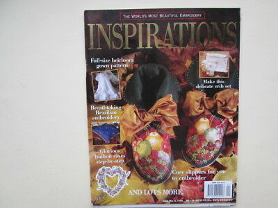 Inspirations embroidery magazine issue no 4