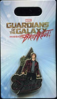 DCA Guardians of The Galaxy Mission: Breakout Star Lord Disney Pin 123960