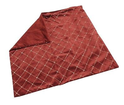 Spencer N Enterprises INC Decorative Pillow MYOP Quilted Diamond Cover, Red