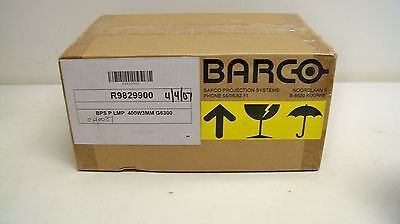 NEW! Barco Replacement Lamp Bulb R9829900 for G6300 (21E)