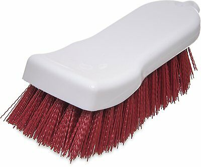 "Carlisle 4052105 Sparta Commercial Cutting Board Brush, 6"" x 2.5"", Red Pack of"