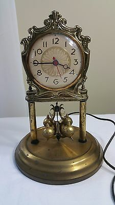 Vintage Electric Anniversary Mantel Clock Movement By Sessions