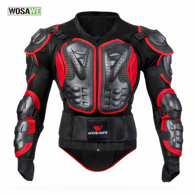 Motocross Motorcycle Armor Shoulder Jacket Protective Body Protection Support