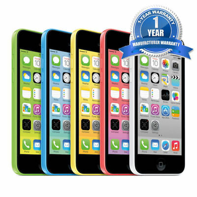 Apple iPhone 5C Factory Unlocked WiFi Dual Core Smartphone