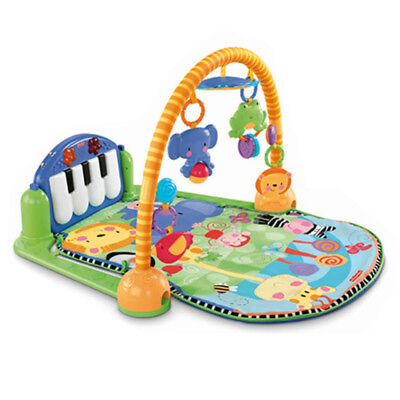 Fisher Price Kick and Play Piano Gym Musical Interactive Baby Play Mat