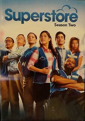 Superstore Second Season 2 Two (DVD) BRAND NEW & SEALED!!
