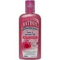 Bathox Shower Gel 500ml Rose Jasmine Oil