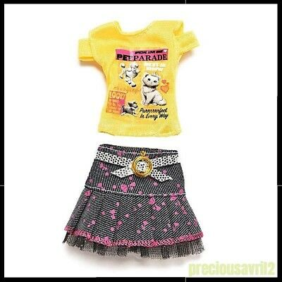 Barbie Doll Clothes 2 piece set/Casual/Outfit/Skirt/Top/Dress/Pets/Clothing/New