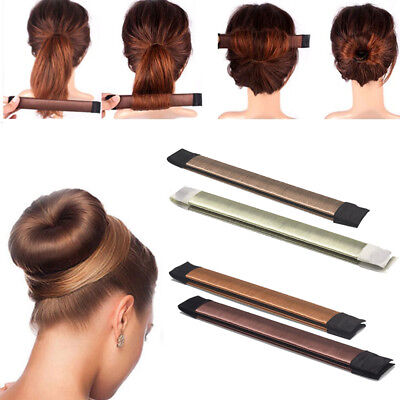 2 Pack Damen Dutt Hilfe Haar Styling Frisurenhilfe Haarschmuck Magic Bun Maker