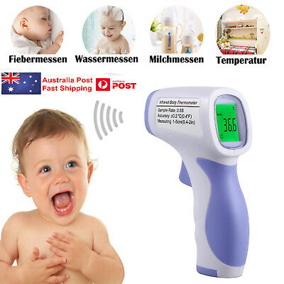 Non-Contact Digital IR Infrared Temperature Thermometer for Baby Adult Body Care