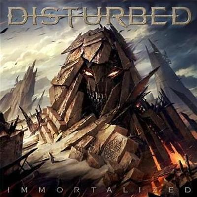 DISTURBED Immortalized CD NEW SEALED
