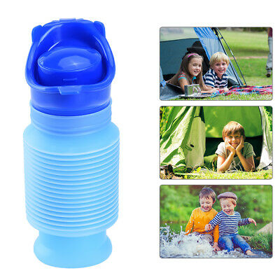 Cute Portable Emergency Urinal Foldable Urinal Pee Bottle for Kids Adults 750ML