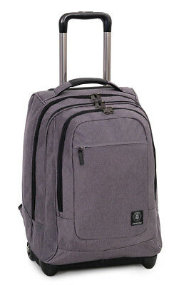 Wheeled Backpack Trolley INVICTA Business Bump Grey