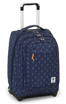 Wheeled Backpack Trolley INVICTA Extra Bump Blue Cactus