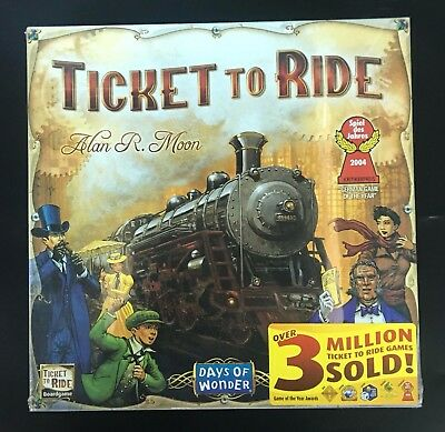 TICKET TO RIDE Origin Edition Family Board Game Fathers Day Christmas Gift