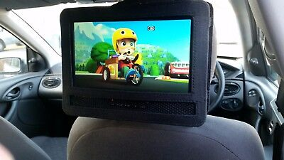 """LOGIK 9"""" Tablet In Car Portable DVD Player Rechargeable Battery Mounting Kit"""