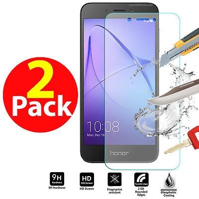Genuine Shockproof Tempered Glass Screen Protector Guard For Huawei Honor 6A