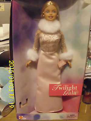 "Mattel Barbie Doll ""twilight Gala""  Nrfb Adult Collector Outfit W/fake Fur Shoes"