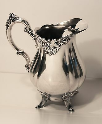 Wallace Baroque Silverplate Water Pitcher-c.1940s