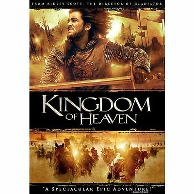 Kingdom of Heaven (DVD, 2005, 2-Disc Set, Widescreen) *LIKE NEW*