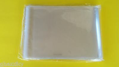 200 - 10x13 Clear Resealable Poly Cello Cellophane Clothing t-shirt storage Bags