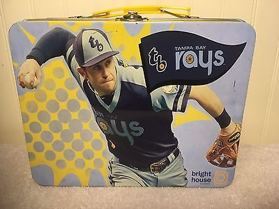 Tampa Bay Rays Evan Longoria Lunch Box Metal Tin MLB Baseball Promo
