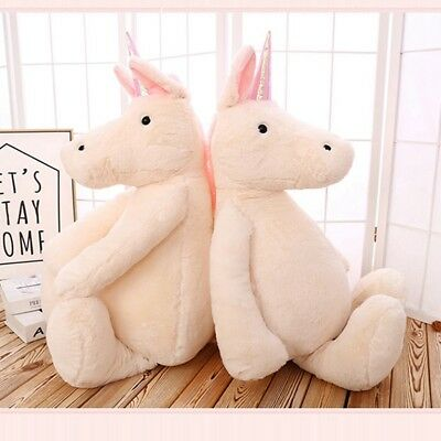 New Unicorn baby children Magic White  Plush Cuddly Soft Toy Teddy Doll Unicorns