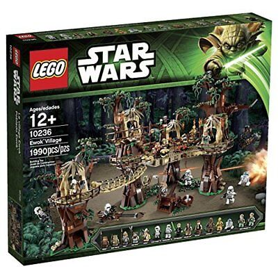 Lego Ewok Village 10236 Lego Star Wars Set  selten rar