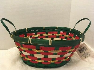 New Christmas Basket With Handles (lot13)