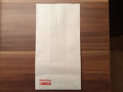 Mea Middle East Airline Air Sickness Bag