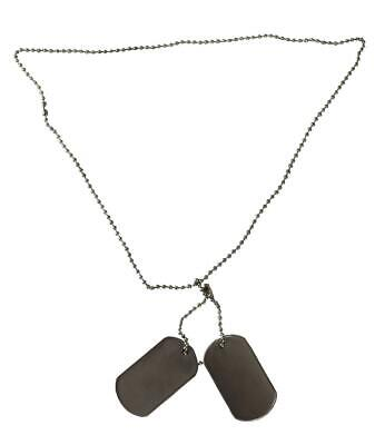 US Erkennungsmarke n mit Kette Dog Tag Hundemarke Army Anhänger Tags BW Dogtags
