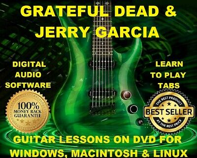 Grateful Dead 250 Guitar Tabs Software Lesson Cd 11 Backing Track