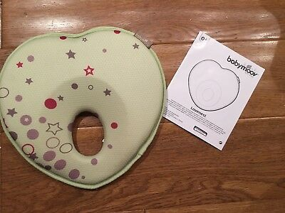 Babymoov Lovenest Head Support (Green) Baby Pillow to Prevent From Flat Head