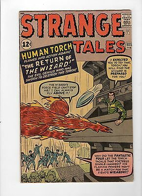 Strange Tales #105 (Feb 1963, Marvel) - Fine