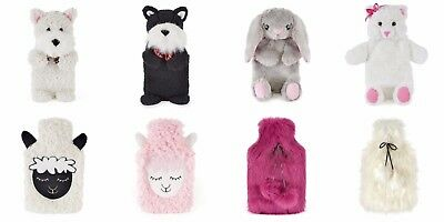 Quality Soft Lush Plush Faux Fur Covered 3D  And Plush,Hot Water Bottle