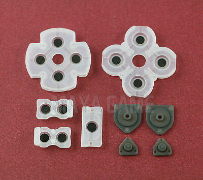 PS4 Playstation 4 Controller Rubber Conductive Pads Silicon Buttons Replacement