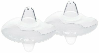 Medela Breastfeeding Contact Nipple Silicone Shields Pads Protectors - 20 mm