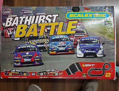 Scalextric bathurst set