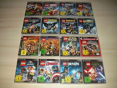 PS3 - 1 x Lego Spiel nach Wahl ( Batman, Marvel, Harry Potter,...) Playstation 3