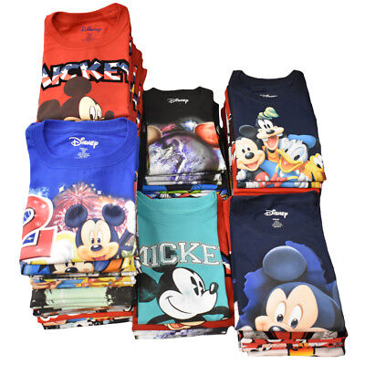 DISNEY Wholesale Lot 24 Pcs - 2nd Quality Kids T-Shirt - Assorted Mickey Friends
