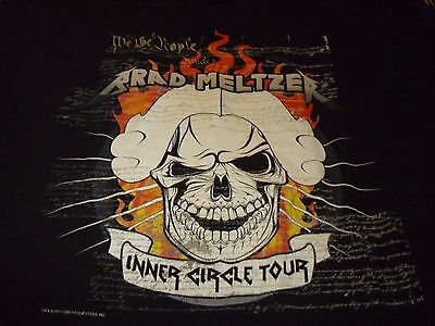 Brad Meltzer Tour Shirt ( Used Size L ) Very Good Condition!!!