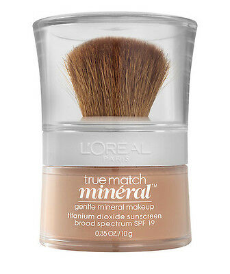Loreal True Match Gentle Mineral Makeup Foundation Powder - W1-2 Light Ivory