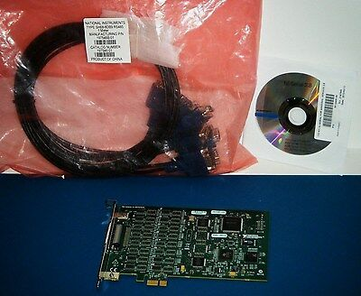 NI PCIe-8431/8 Kit RS485 RS422, with 8 Port Cable, National Instruments *Tested*