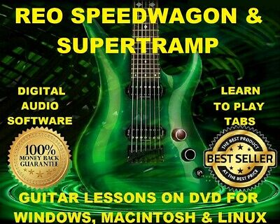 FOREIGNER 78 GUITAR Tabs Software Lesson CD, 22 Backing Tracks ...