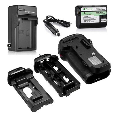 MB-D12 Battery Grip for Nikon D810 D800E D800S D800 + EN-EL15 Battery + Charger