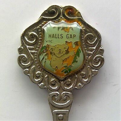 Halls Gap Koala Silver Plated Souvenir Spoon Teaspoon (T112)