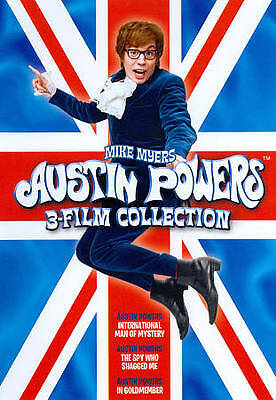 Austin Powers Collection (DVD, 2011, 2-Disc Set) NEW Sealed